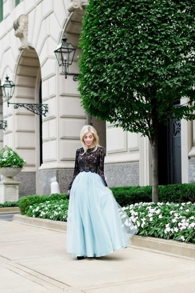 Pulling off a tulle skirt