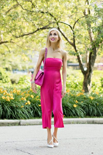 My two favorite pink jumpsuits for summer