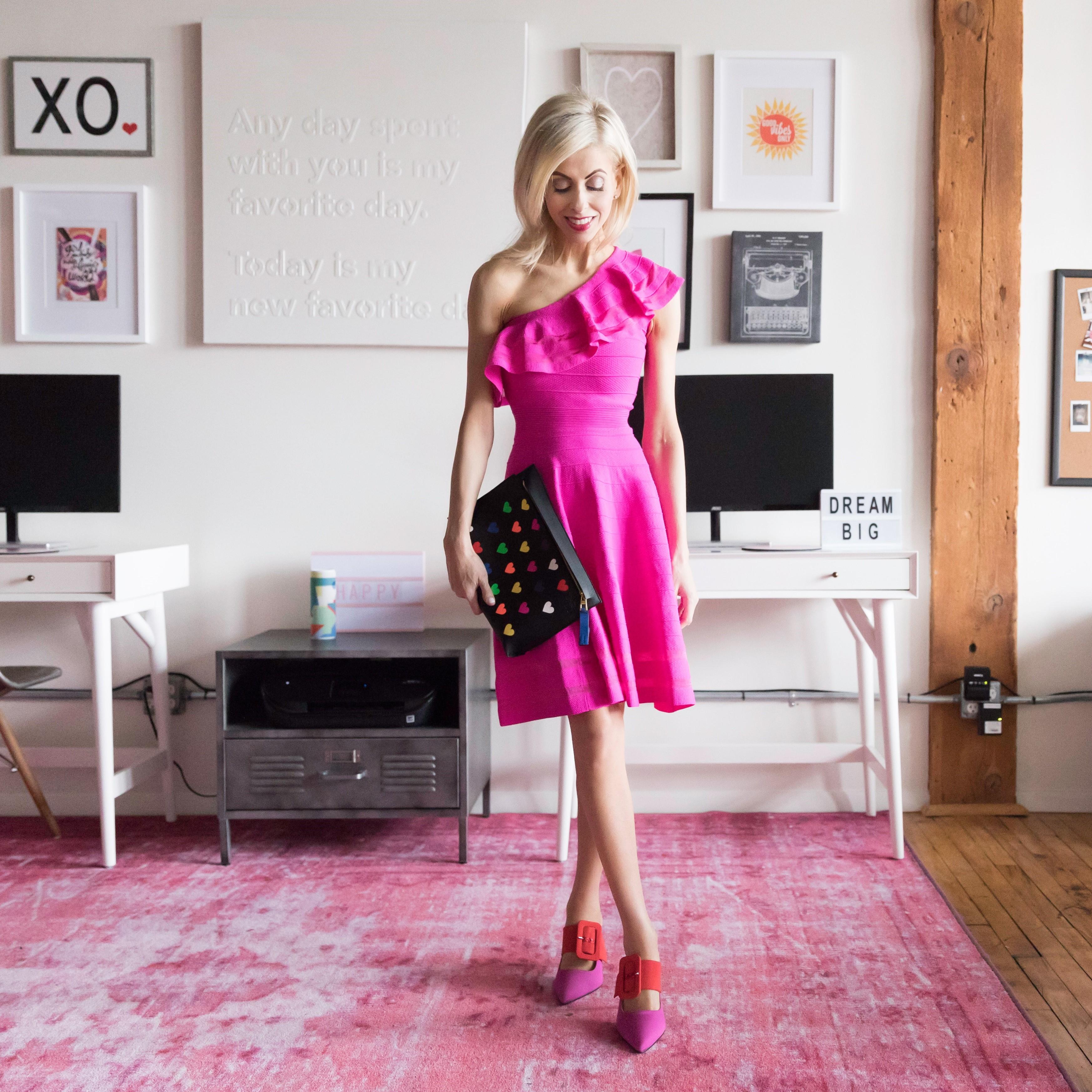 Pink picks - dress