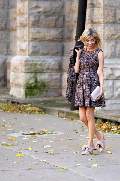 tweed dress